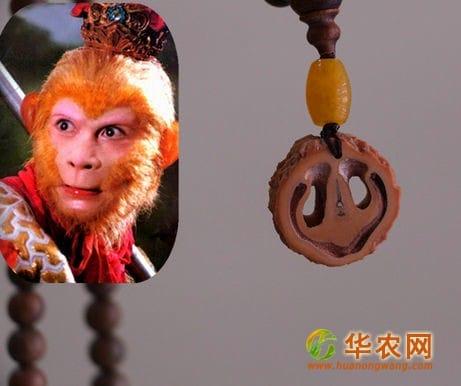 30-猴头核桃剖开后是活脱脱的猴脸